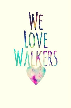 Walkers The Walking Dead I Love Walkers Zombies  Caminantes