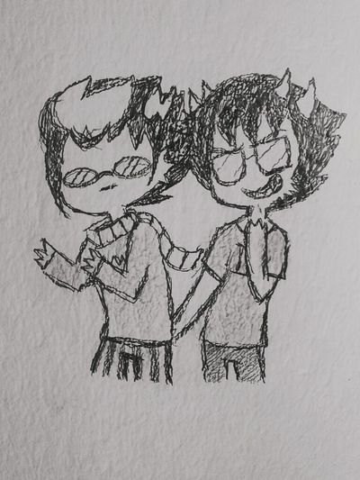 I drew some Erisol cx on the wall..eheheh Homestuck Drawing My Drawings Doodle