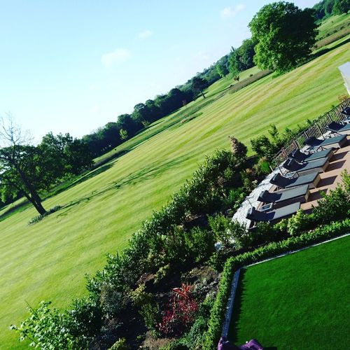 Rockliffe Hall Green Summer Summertime Sunshine Serene Beauty In Nature Tranquility Outdoors