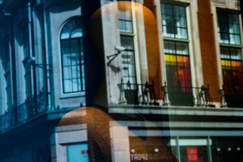 London Mannequin Reflection Architecture Cctv City Close-up Day Outdoors Shop Window Street Streetphotography Window