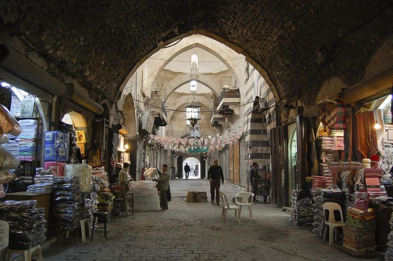 Al Madina Souq - Aleppo - Syria Al Madina Al Madina Souq City Souq Syria  Aleppo Architecture Built Structure