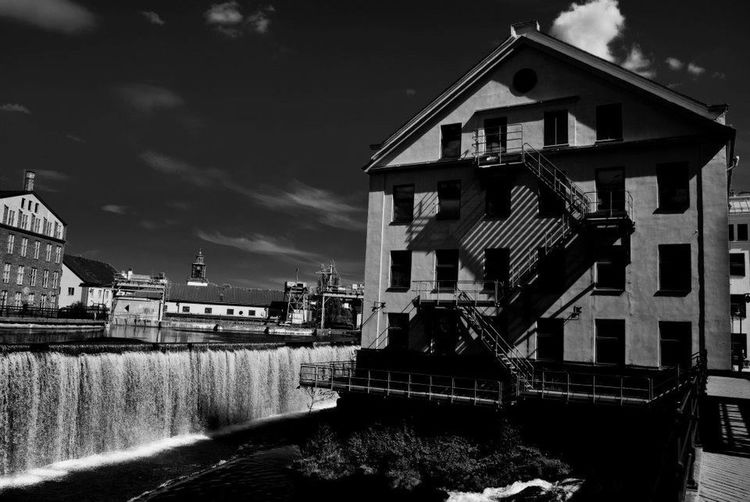 Architecture Black & White Travel Photography Sweden