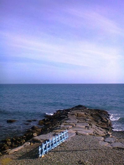 San Remo Beach Beauty In Nature Day Horizon Over Water Italy Nature No People Outdoors Scenics Sea Sky Tranquil Scene Tranquility Water