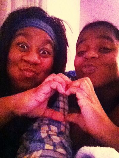 We tried with that heart foreal lol