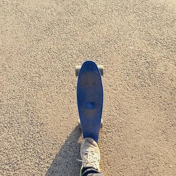 Size doesn't matter! ☀🏂 G2sport G2youth Lifeingdb Smileislife Pennyboard Koala Shoes Koko Nite Skateboarding New Skate Skatelife Nevergiveup Pic Park SK  Skatepark Skateboard