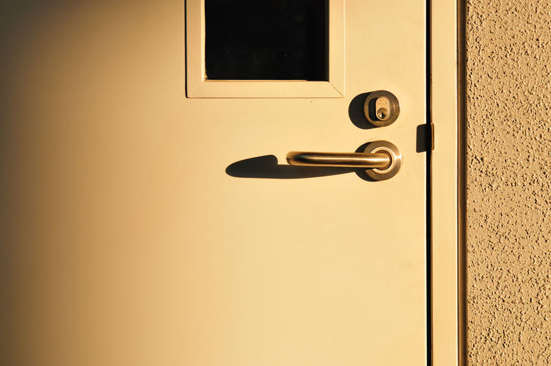 Close-Up Of Doorknob