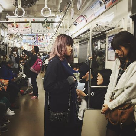 Open Edit Public Transportation Strangers In Transit Tokyo Sorry Stranger I Had To Take A Picture Of You Ultimate Japan