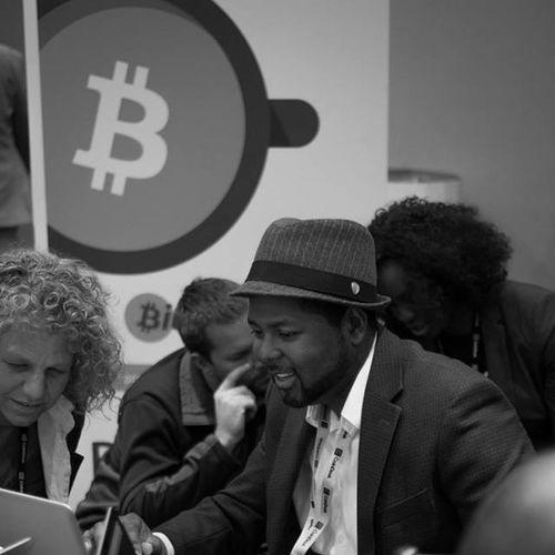 @ the bitcoin conference nyc 2014 posting the rest of the photos on my site later today Bitcoin Bitcoincenternyc Cryptography Crypto_currency black-and-white nelson_molina_photo nelvisstudios