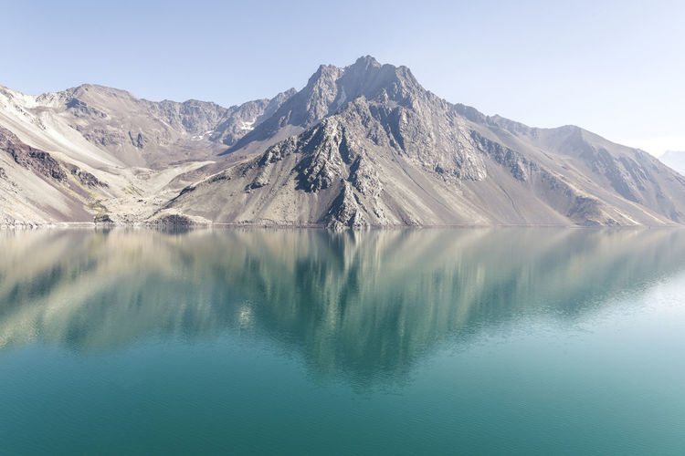 Embalse del Yeso, Cajon del Maipo, Chile Fine Art Photograhy Fine Art Photography Nature This Is Latin America Artificial Lake Landscape Manmade Minimalism No People Photography