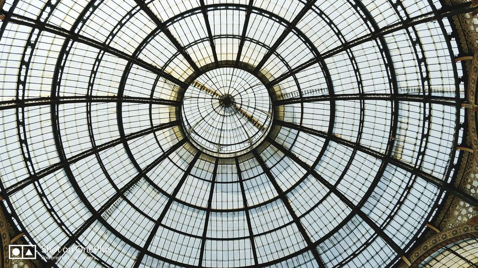 Milano Milan Cupola Vittorioemanuele City Light Glass