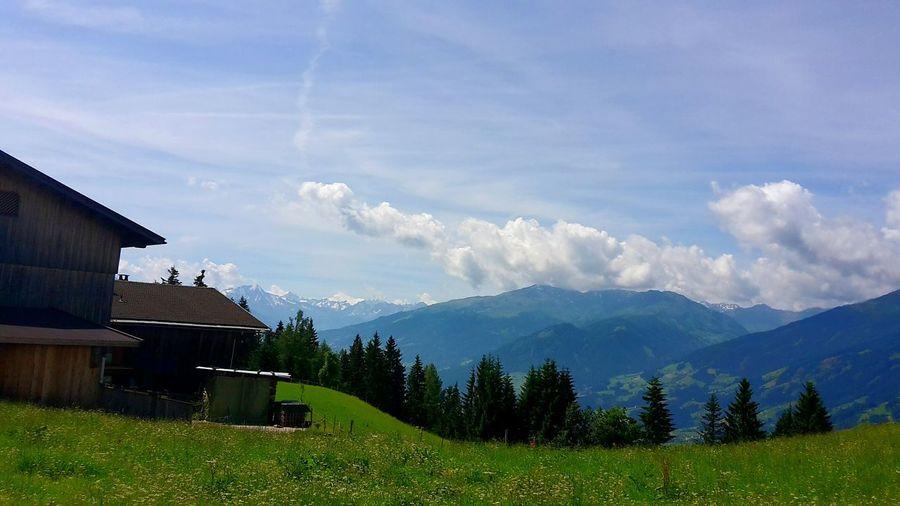 Ferien 2016 Östereich Sommer 2016 Berge Schöne Aussicht  Tolles Wetter