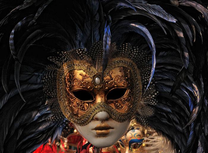 Art Close-up Cultures Mask Venice, Italy