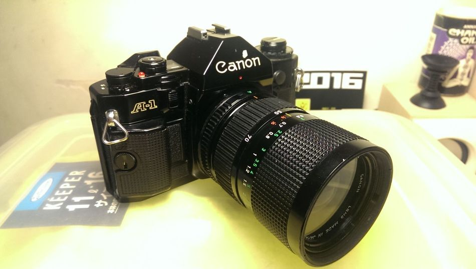 Canon A-1 Canon A1Canon A-1 Filmcamera First Eyeem Photo