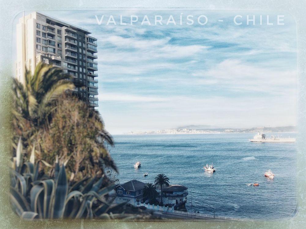 Sector Playa Ancha, Valparaíso - Chile Mar Sea Landscape Mirador