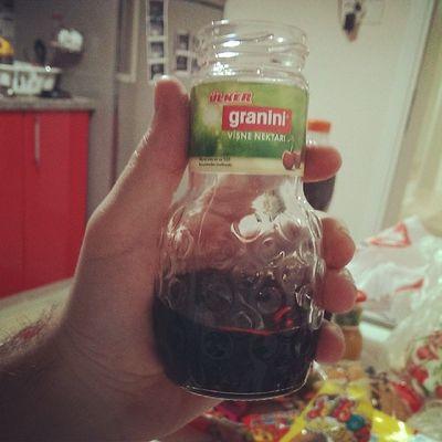 Ne guzel minik şişe bi seferde içmelik Juice Visne
