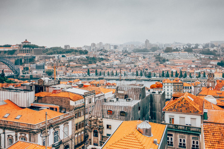 Lisbon - Portugal Architecture Building Exterior Built Structure City Cityscape Clear Sky Community Crowded Day High Angle View Lisbon Outdoors People Residential Building Residential District Roof Sky Town Travel Destinations Colour Your Horizn