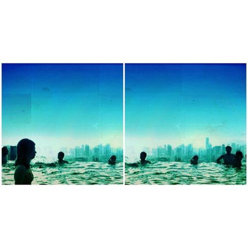 Blue Sky Water