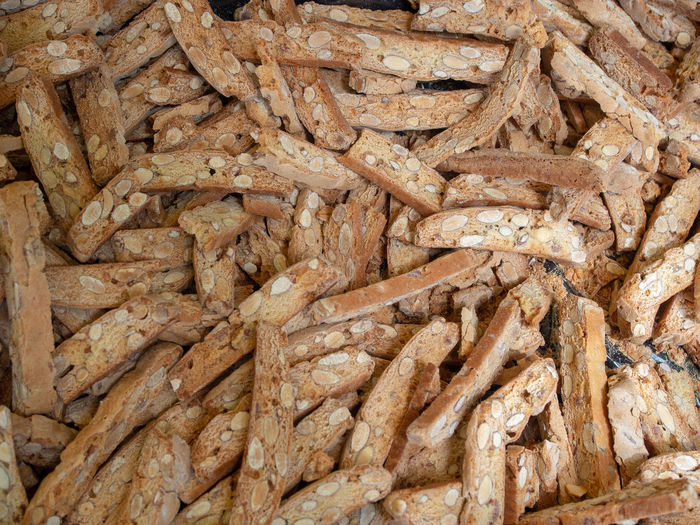 Food And Drink Food Arles France Provence Market Market Stall Farmer Market Farmers Market Full Frame Large Group Of Objects Abundance Almond Biscuits Cantuccini Street Street Food Stall Street Market