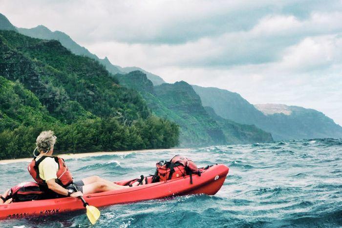 Freedom. Kayaking the Napali coast. Kauai, Hawaii. Hawaii On The Move Exploring New Ground Kayaking What I Value Edge Of The World Ocean Na Pali Coast Kauai Capture The Moment Perspectives On Nature