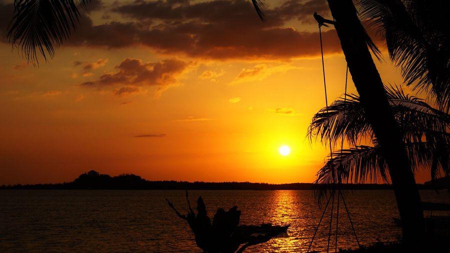 Sunset Nabulao Philippines