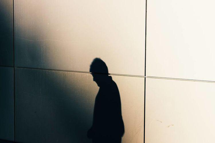 Man standing on floor