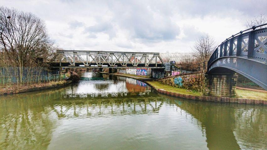 Reflections Canal Architecture Built Structure Building Exterior Cloud - Sky