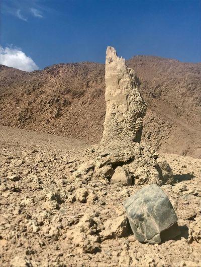 Land Sky Sand