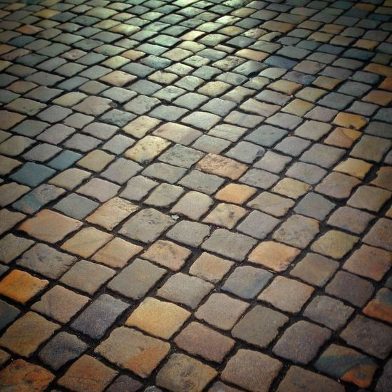 Structure Pattern Street Stones Old