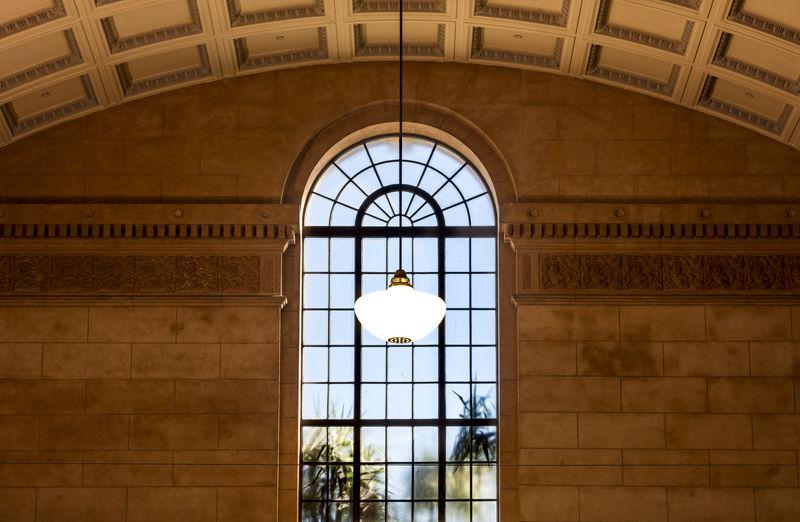 Arch Architecture Ceiling Illuminated Indoors  Lighting Equipment Pendant Light Window