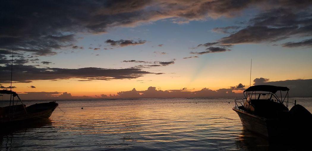 The Mobile Photographer - 2019 EyeEm Awards Water Nautical Vessel Sea Sunset Beach Wave Fishing Beauty Reflection Dawn