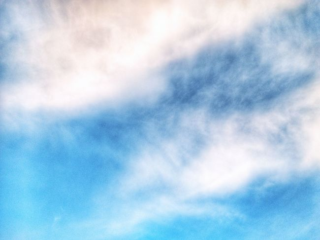 Cloud - Sky Blue Sky Backgrounds Cloudscape Sky Only Abstract