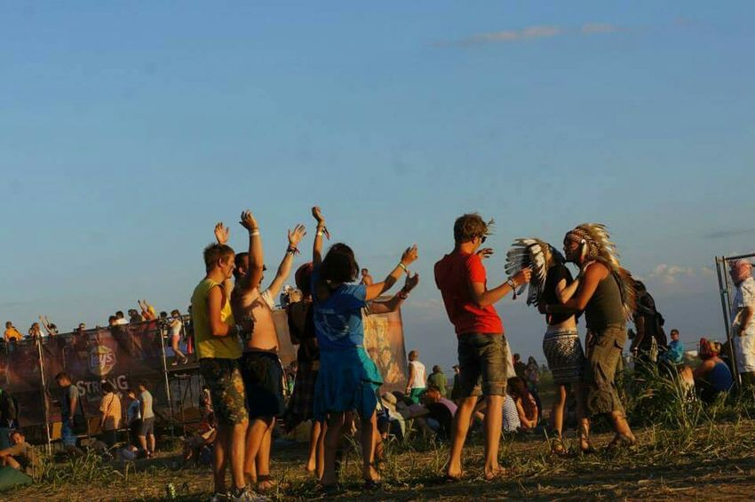 Musicfestival Meeting Kiss Indians