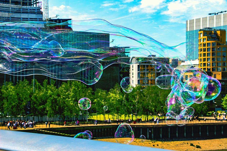 Bubbles Bubbles In The Sky