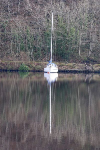 Eye Em Nature Lover Canal Tranquil Scene Scotland Crinan Canal Reflection Tranquil Days Reflections In The Water Crinan Yacht Yachting Sailing Sailboat