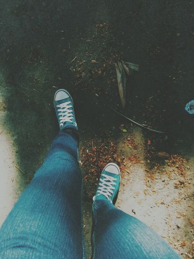 👟👟Taking Photos Shoes Jeans Enjoying Life