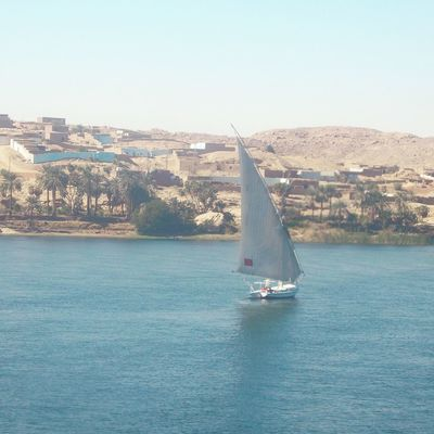 Aswan Aswan, Egypt Cityscape Day Egypt Landscape Landscape #Nature #photography Landscape_photography Nature Nile Cruise Nile River No People Outdoors River Sailboat Sailing Sky The Nile River Tourist Attraction  Tourist Destination Travel Photography Traveling Village View Water Waterfront