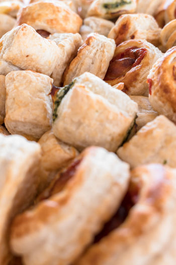 Appetizer Background Baked Bakery Cheese Children Close-up Closeup Cooking Crust Delicious Detail Dinner Eat Event Food Fresh Freshness Gold Golden Gourmet Green Group Image Italian Lunch Macro Meal Mini Mozzarella Nobody Party Pastry Pieces Pizza Pizzas Portion Puff Red Sauce Small Snack Sweet Tasty Texture Tomato Traditional Variegated Vertical Wallpaper
