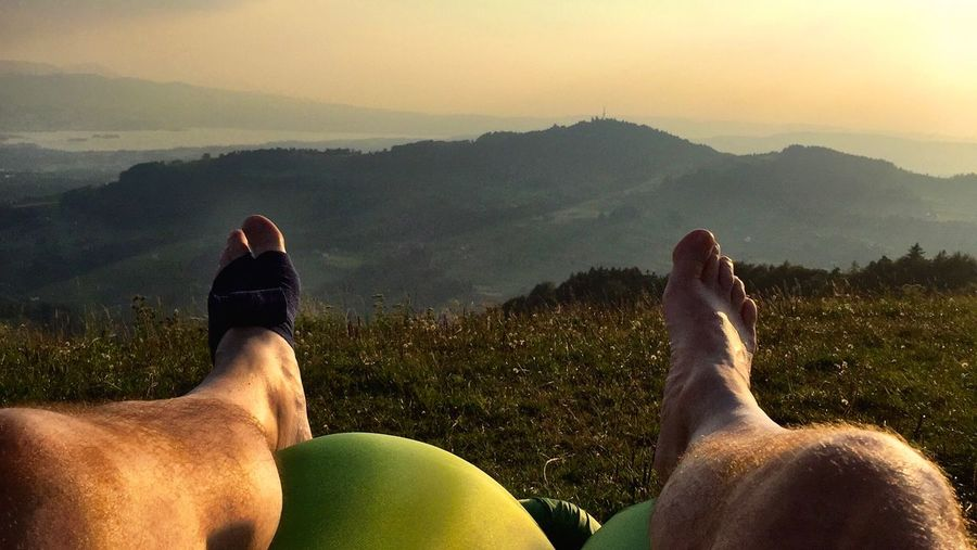 EyeEm Selects Personal Perspective Human Body Part Mountain Body Part Human Leg Leisure Activity