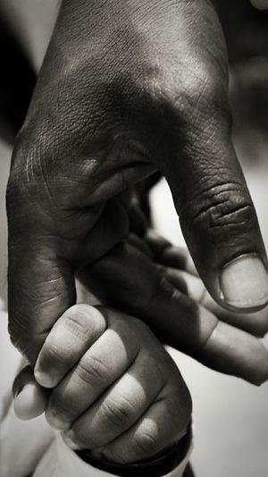 Blackandwhite Black And White Blackandwhite Photography Black & White EyeEm Best Shots The Perfect Shot SUPPORT Handholdingthe grasp of trust Trust Small Hands Love Love Photography Cute Hands Happy Serene Simply Beautiful Beautiful The Photojournalist - 2016 EyeEm Awards EyeEmNewHere