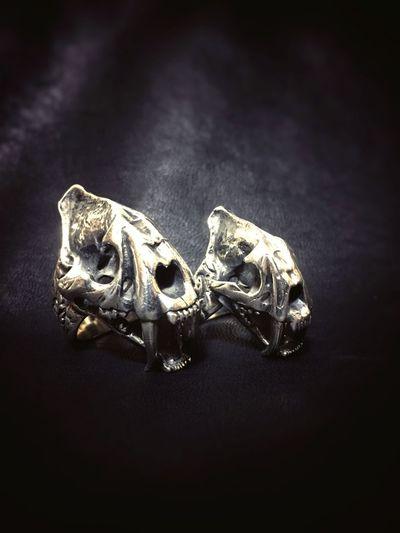 Zócalo ソカロ お気に入り シルバーアクセサリー アクセサリー サーベルタイガー リング LサイズとSサイズ Silveraccessories Silver925 Silver