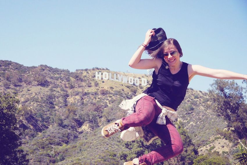 Feel The Journey Happyday Happiness HAPPIESTDAYOFMYLIFE Hollywood Sign Hollywood Movies!  Movielife