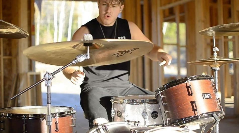 This is my stepson, Terrance Pettitt. His music infiltrates my life by having his drum room in our basement. Check him out online. Drummer Drumstick Drum Kit Music Musical Instrument Drum - Percussion Instrument Practicing Cymbal Skill  Musician Only Men One Person Arts Culture And Entertainment Adults Only Indoors  Holding Adult Performance People Playing TakeoverMusic