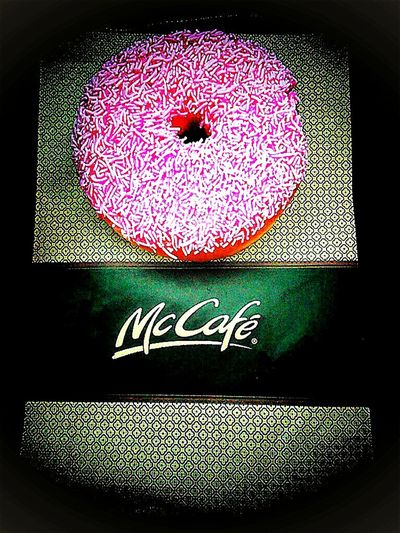 I'mlovin'it Unhealthy Lifestyle Pink Color I'm Lovin' It ® McCafe Yumm-a-licious McDonald's Mc Café Donuts🍩 Macca's The Golden Arches I'm Lovin' It Golden Arches Doughnuts♥ Donuts Mcdonalds Maccas I Like It Pink&white Calories Temptation At McDonald's Unhealthy Eating Mickey D's Ready-to-eat Doughnuts Donut Time Doughnut Iced Donuts Iced Doughnuts