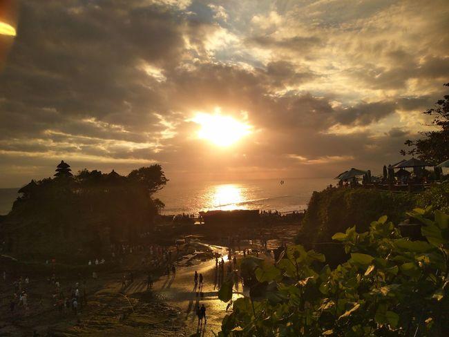 In Bali💓 Sunset Gold Sea And Sky Bali, Indonesia Bali❤️Love Treavel TreavleTheWorld