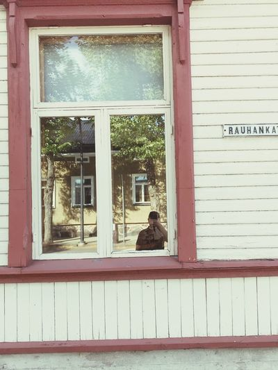 An attempt to make selfi in the window😁 Another ancient house on Rauhankatu in 2018. Window Built Structure Architecture Building Exterior Building Glass - Material Day No People Residential District House Transparent Text Outdoors Western Script Wall - Building Feature Reflection Wood - Material Wall Plant Closed Architecture Text Reflection Sitting Animal Mammal Animal Themes Vertebrate Domestic Animals Pets