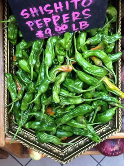 Shishito Peppers $9/lb Peppers Green Farmers Market
