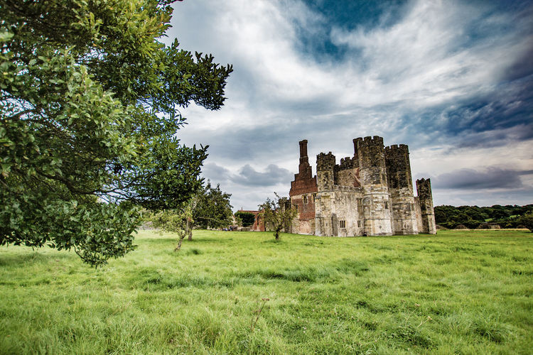 The Abbey at Titchfield Abbey Ruins Ancient Ancient Civilization Architecture Building Exterior Built Structure Castle Clouds Day Grass Green Color History Nature No People Old Ruin Outdoors Place Of Worship Sky Spirituality The Past Titchfield Abbey Travel Destinations Tree