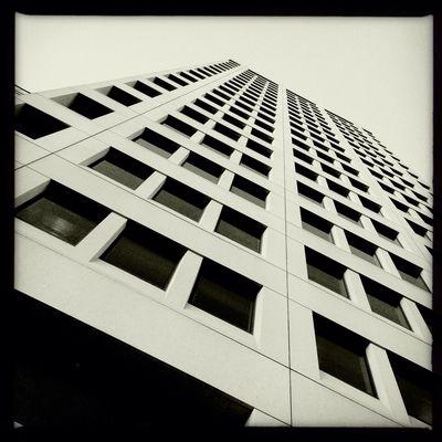 architecture in Oakland No Flash Claunch 72 Monochrome Film Architecture