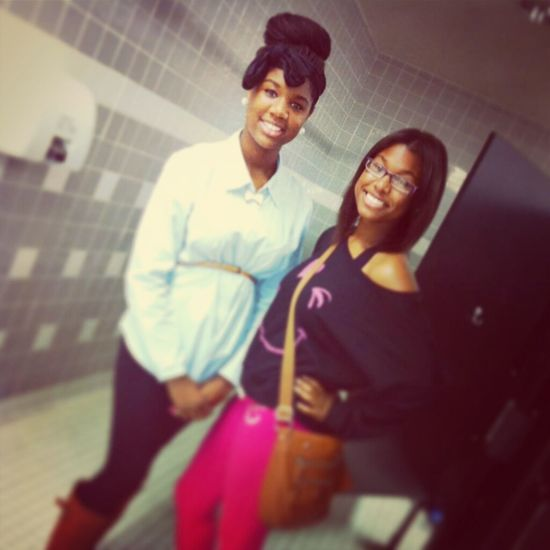 me and autumn!