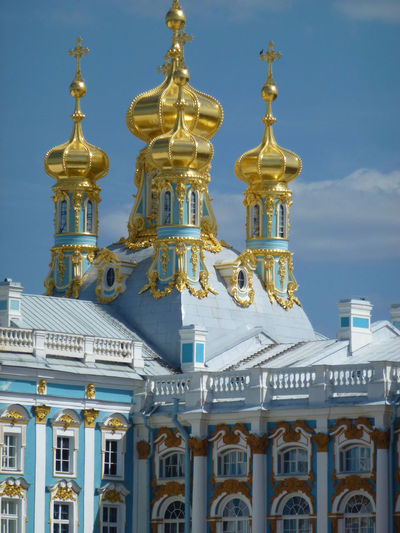Russia St. Petersberg Architecture Building Exterior Built Structure Day Dome Gold Colored No People Outdoors Place Of Worship Religion Sky Spirituality Travel Destinations